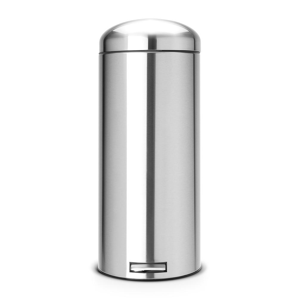 Онлайн каталог PROMENU: Бак для мусора Retro Bin Brabantia, объем 30 л, стальной Brabantia 479366