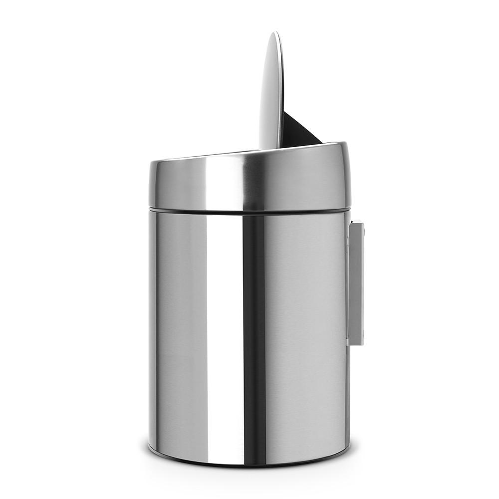 Бак для мусора Slide Bin Brabantia, объем 5 л, серебристый Brabantia 477546 фото 2