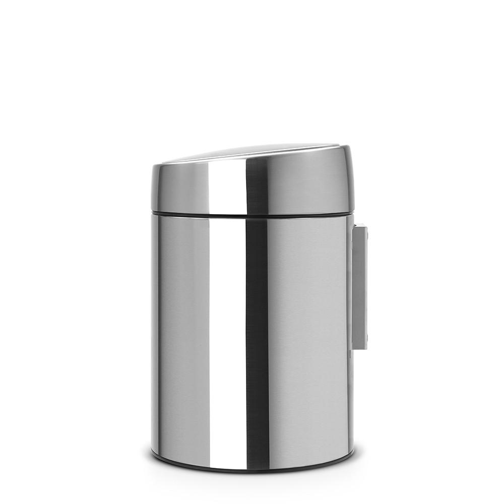 Бак для мусора Slide Bin Brabantia, объем 5 л, серебристый Brabantia 477546 фото 4