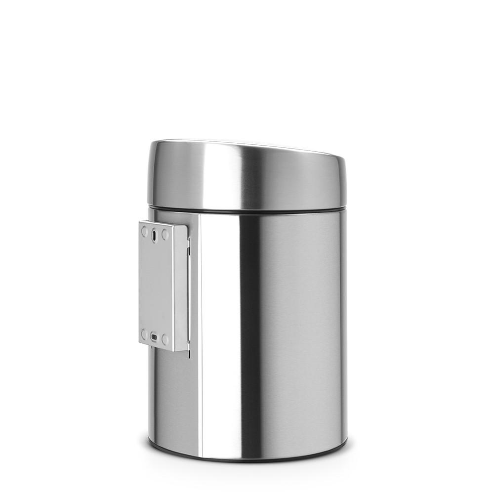 Бак для мусора Slide Bin Brabantia, объем 5 л, серебристый Brabantia 477546 фото 1