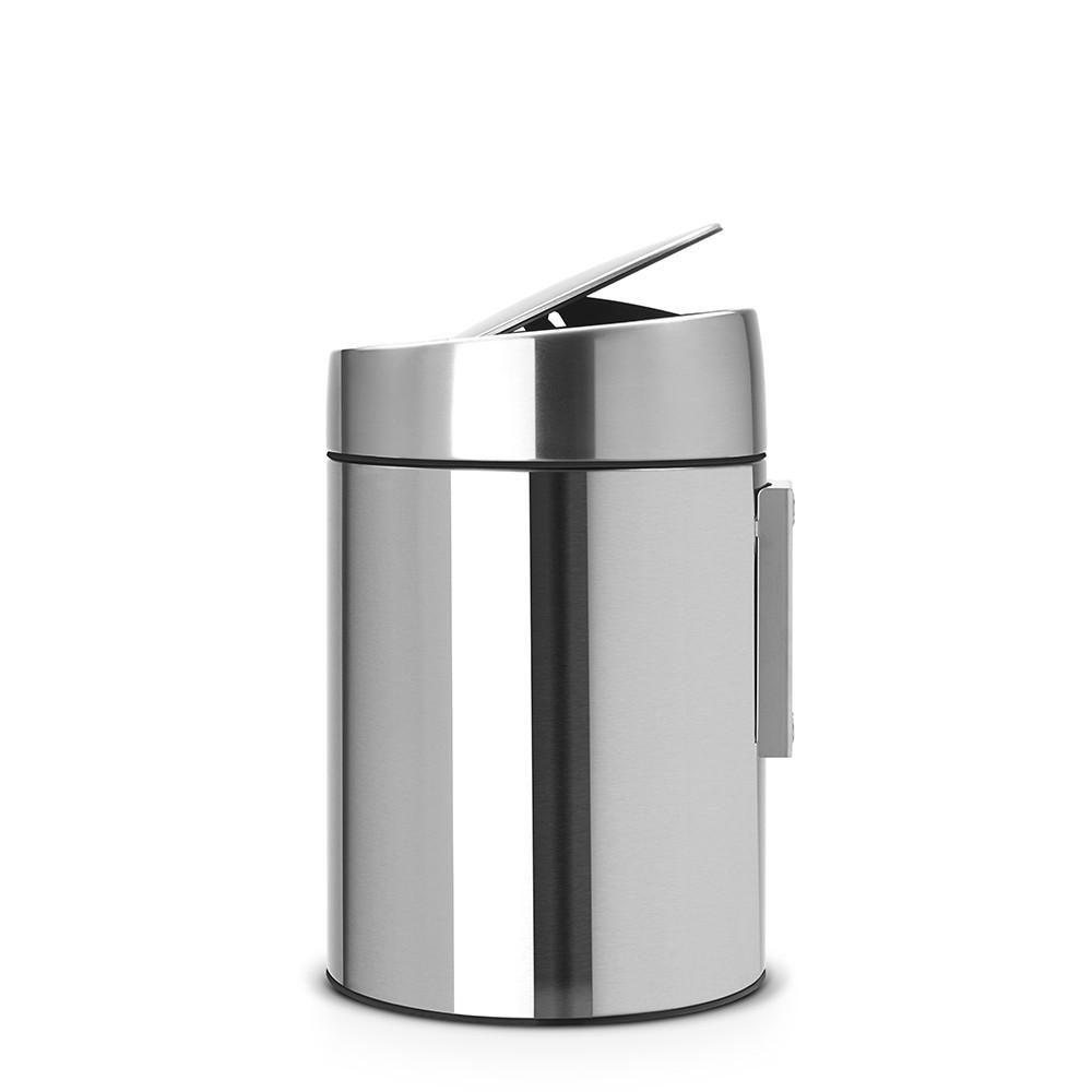 Бак для мусора Slide Bin Brabantia, объем 5 л, серебристый Brabantia 477546 фото 3