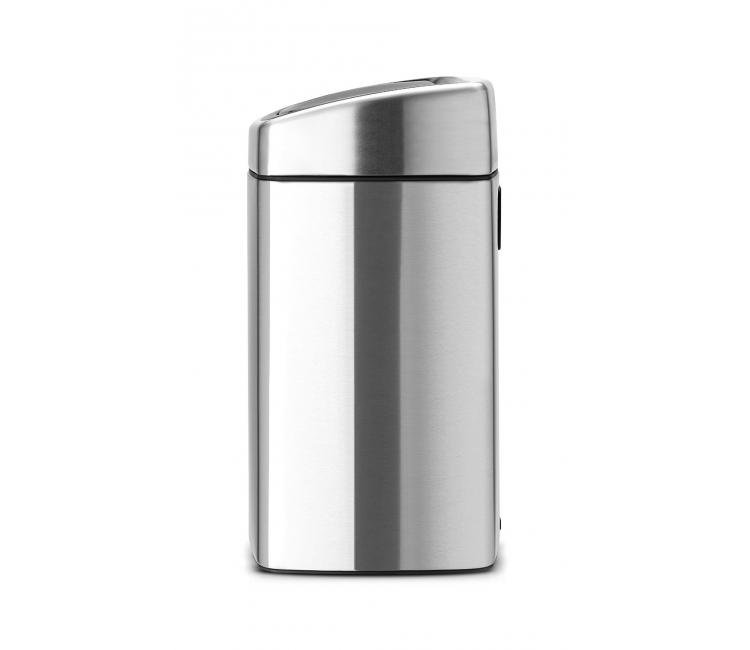 Бак для мусора Touch Bin Brabantia, объем 10 л, серебристый Brabantia 477225 фото 11