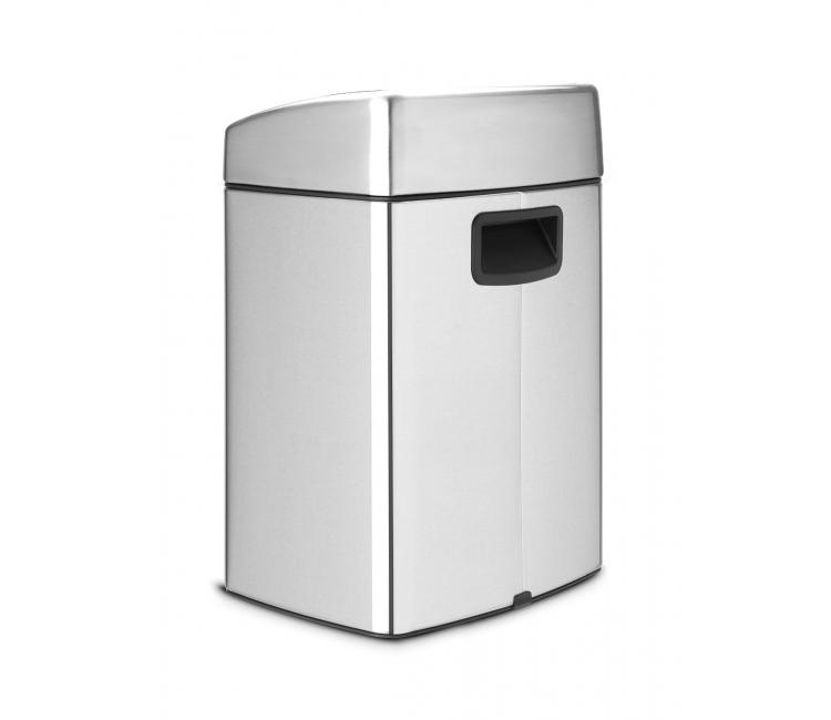 Бак для мусора Touch Bin Brabantia, объем 10 л, серебристый Brabantia 477225 фото 10
