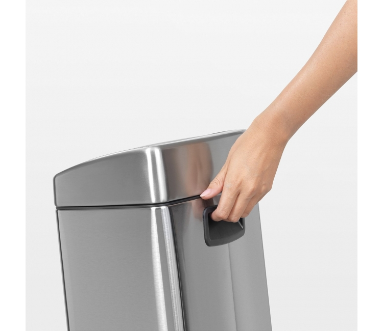 Бак для мусора Touch Bin Brabantia, объем 10 л, серебристый Brabantia 477225 фото 1