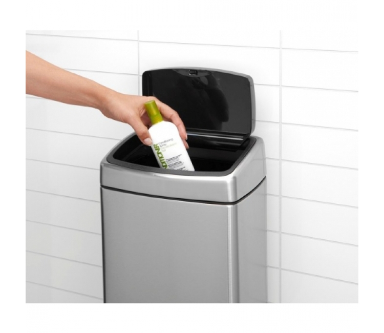 Бак для мусора Touch Bin Brabantia, объем 10 л, серебристый Brabantia 477225 фото 8