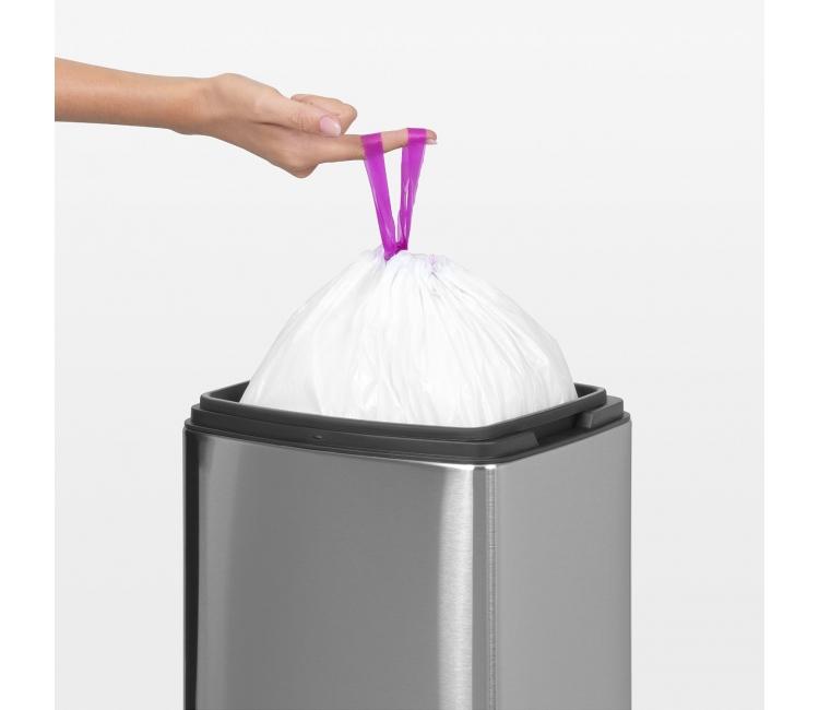 Бак для мусора Touch Bin Brabantia, объем 10 л, серебристый Brabantia 477225 фото 2