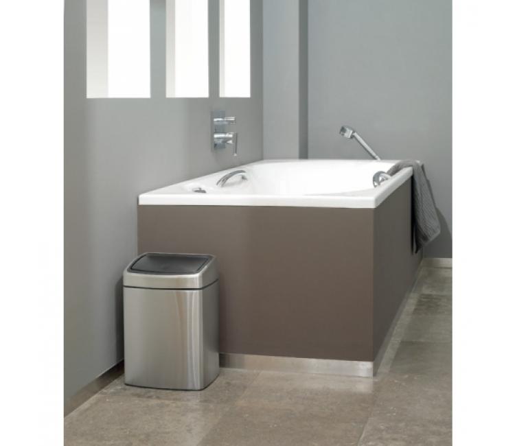 Бак для мусора Touch Bin Brabantia, объем 10 л, серебристый Brabantia 477225 фото 4