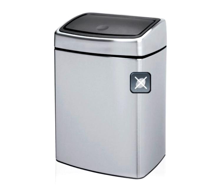 Бак для мусора Touch Bin Brabantia, объем 10 л, серебристый Brabantia 477225 фото 9
