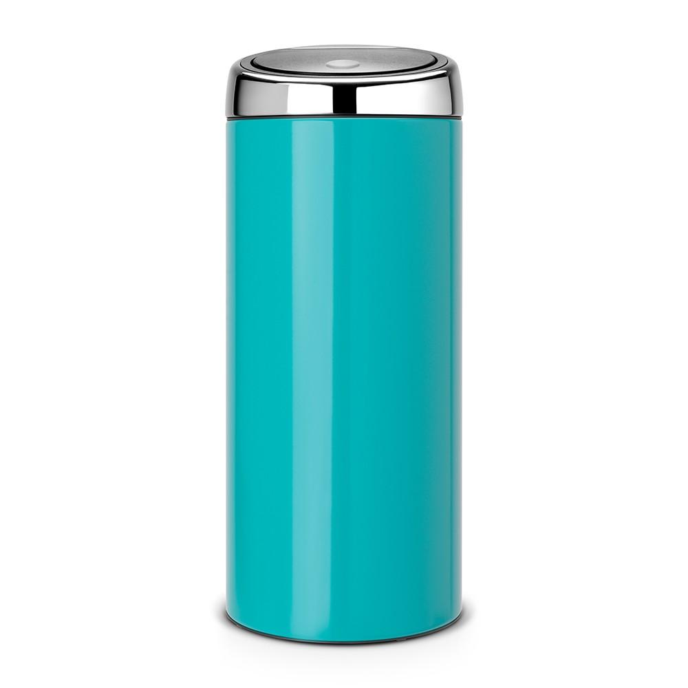 Онлайн каталог PROMENU: Бак для мусора Touch Bin Brabantia, объем 30 л, бирюзовый Brabantia 481925