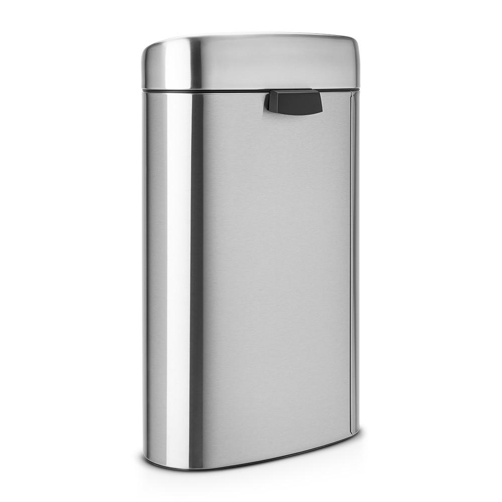 Бак для мусора Touch Bin Brabantia, объем 40 л, серебристо-серый Brabantia 378683 фото 2