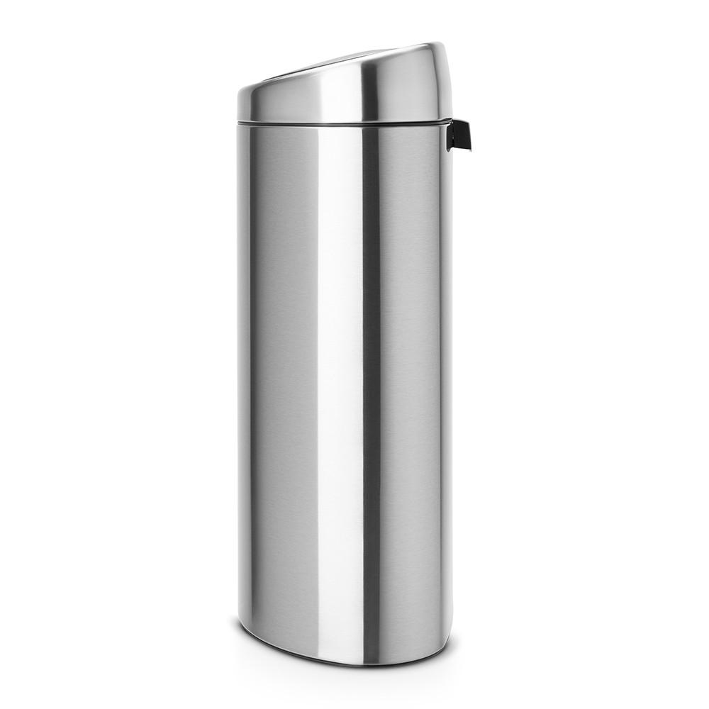 Бак для мусора Touch Bin Brabantia, объем 40 л, серебристо-серый Brabantia 378683 фото 1