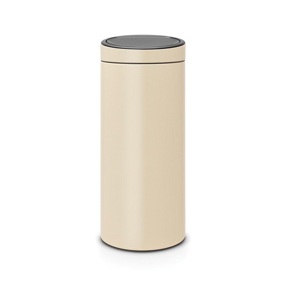 Онлайн каталог PROMENU: Бак для мусора Touch Bin Brabantia, 30 л, кремовый Brabantia 115042