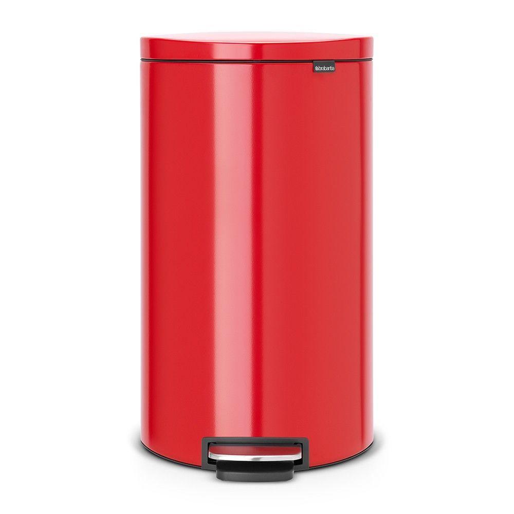 Бак для мусора с педалью Pedal Bin Brabantia, объем 30 л, красный Brabantia 484988 фото 1