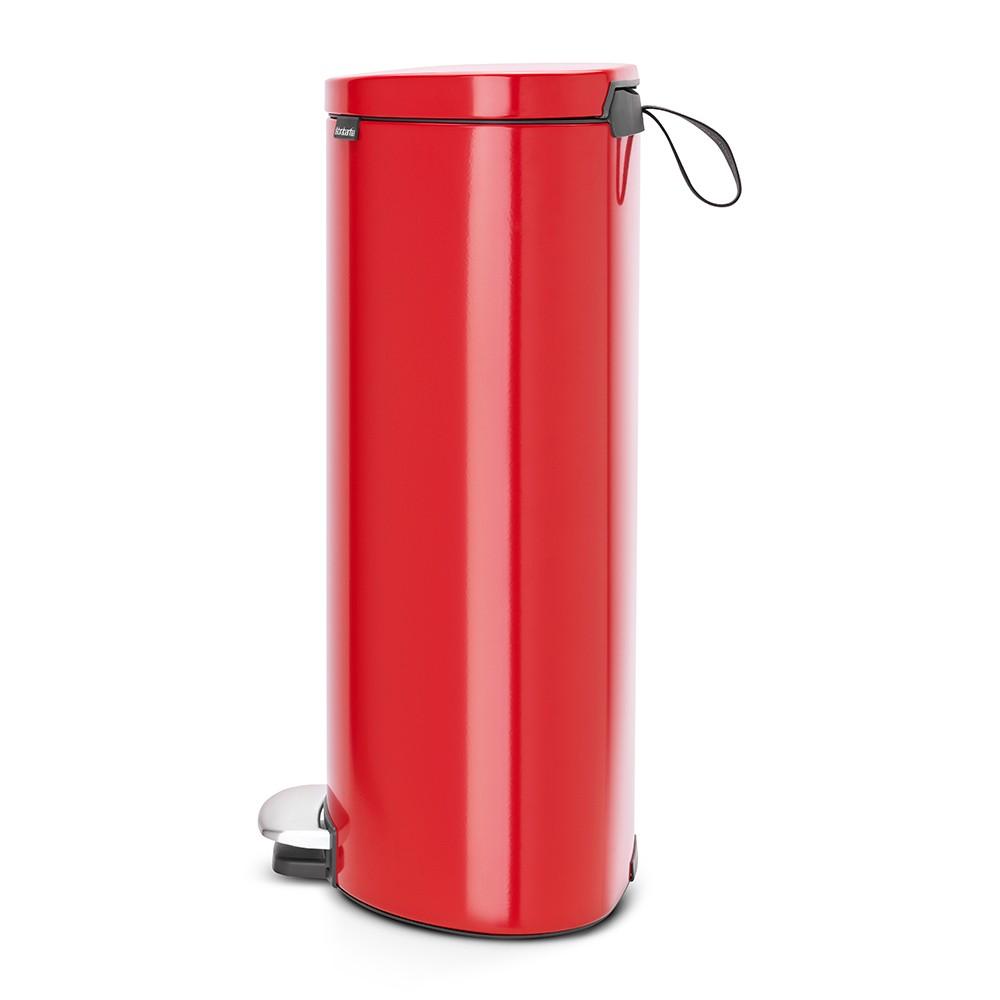 Онлайн каталог PROMENU: Бак для мусора с педалью Pedal Bin Brabantia, объем 30 л, красный Brabantia 484988