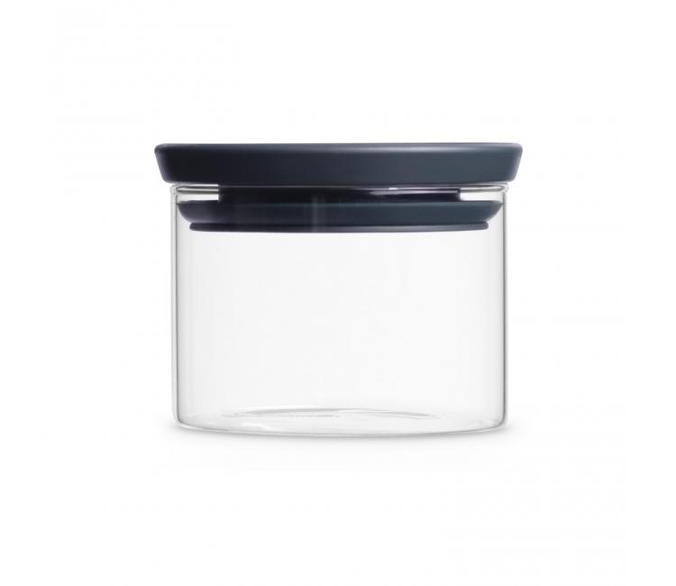 Банка модульная стеклянная Brabantia, объем 0,3 л, прозрачный с серым Brabantia 298301 фото 1