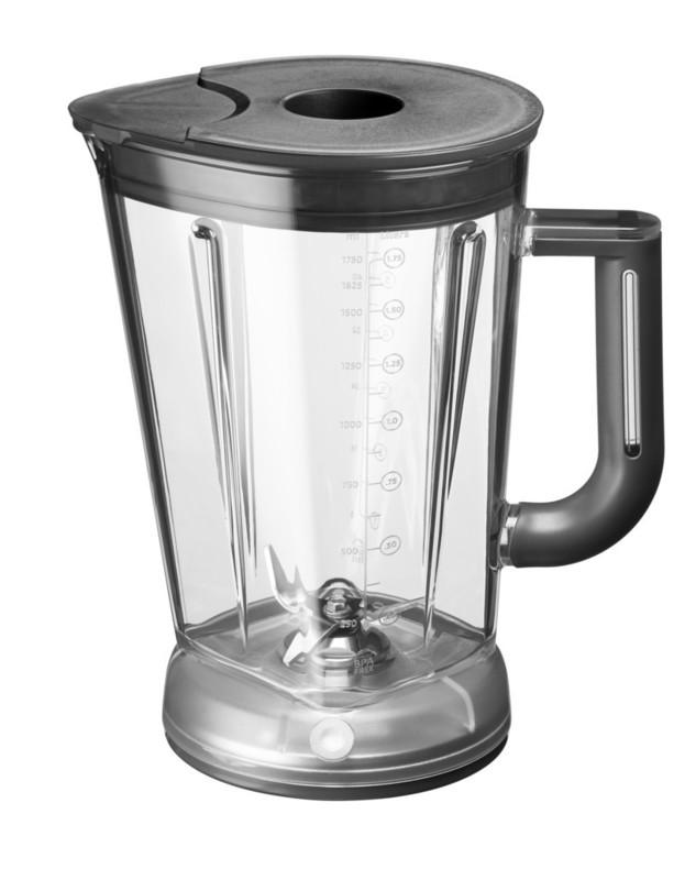 Блендер с электромагнитным приводом KitchenAid Artisan, объем чаши 1,75 л, черный KitchenAid 5KSB5080EOB фото 1