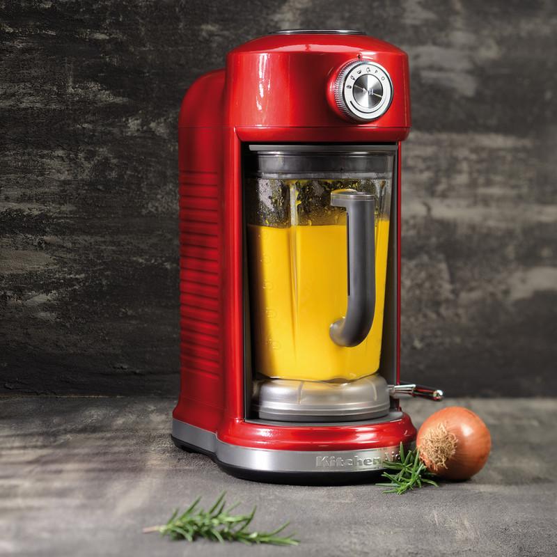 Блендер с электромагнитным приводом KitchenAid Artisan, объем чаши 1,75 л, карамельное яблоко KitchenAid 5KSB5080ECA фото 5