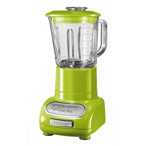 Онлайн каталог PROMENU: Блендер стационарный KitchenAid Artisan, объем чаши 1,5 л, зеленое яблоко KitchenAid 5KSB5553EGA
