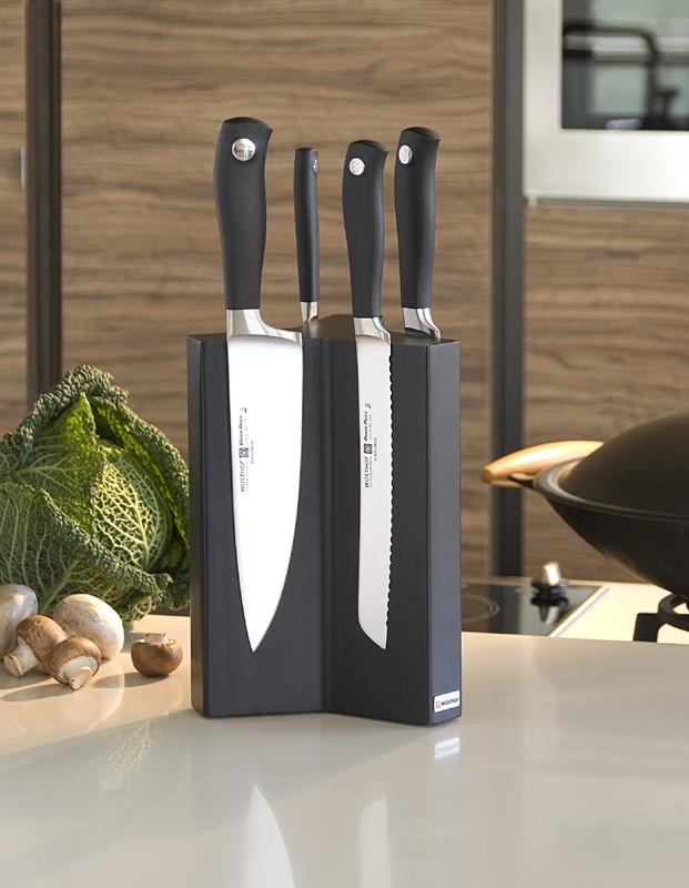 Блок для ножей магнитный на 6 предметов Wuesthof, высота 24 см, пепельно-серый Wuesthof 7277-1 фото 2