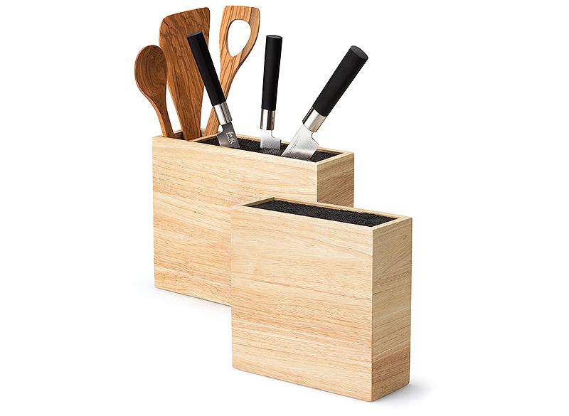 Блок для ножей со вставкой Continenta, 21,5x22x8,5 см, светло-бежевый Continenta 3314 фото 4