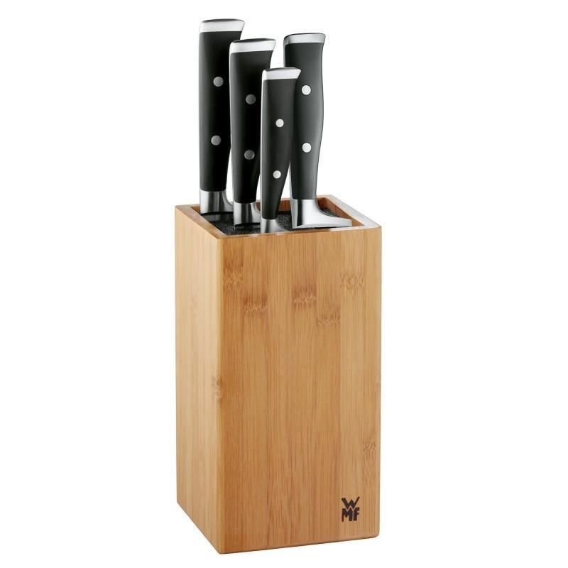 Онлайн каталог PROMENU: Блок с ножами WMF GRAND CLASS, бежевый, 5 предметов WMF 18 9179 9990 SP