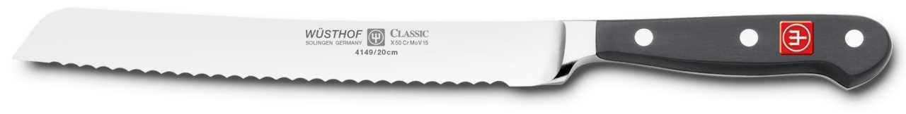 Блок с ножами Wuesthof Classic, черный, 10 предметов Wuesthof 9844 фото 8