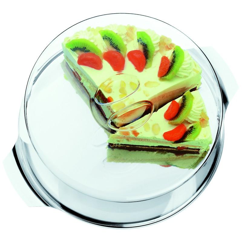 Онлайн каталог PROMENU: Блюдо для торта с крышкой WMF, диаметр 30 см, прозрачный WMF 06 4312 6040