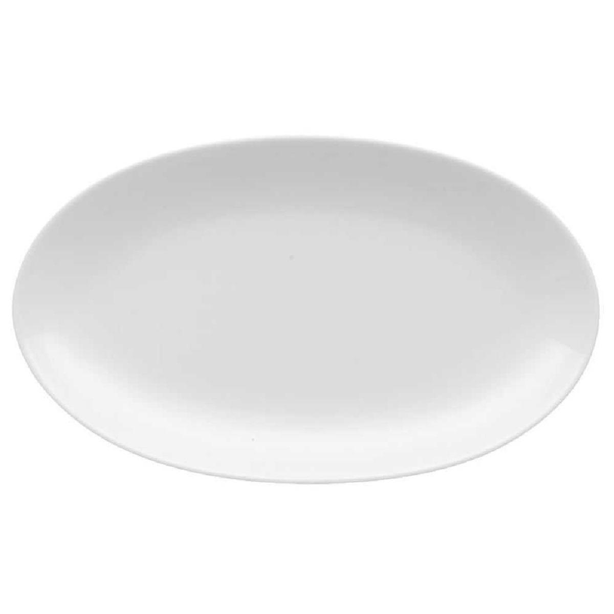 Онлайн каталог PROMENU: Блюдо фарфоровое овальное Rosenthal JADE, длина 24 см, белый Rosenthal 61040-800001-15323