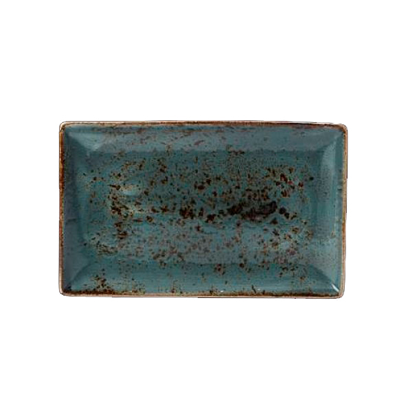 Онлайн каталог PROMENU: Блюдо фарфоровое прямоугольное 27х16,75 см, синее (11300550) Steelite 11300550