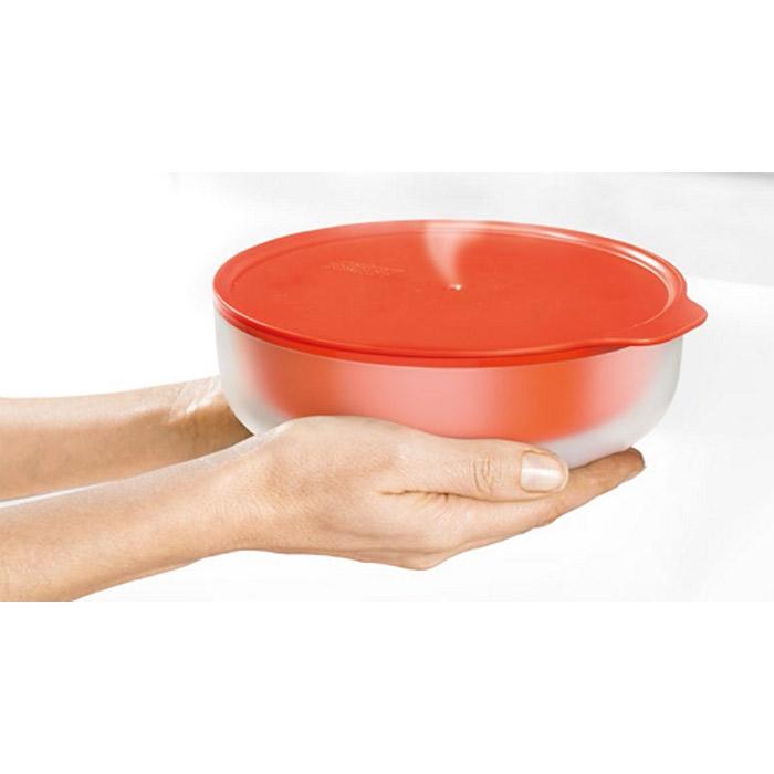 Блюдо с двойными стенками для микроволновой печи низкое Joseph Joseph M-CUISINE, объем 0,55 л, красный Joseph Joseph 45006 фото 2