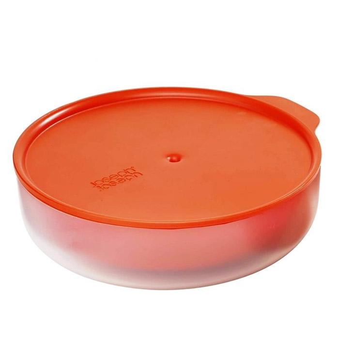 Онлайн каталог PROMENU: Блюдо с двойными стенками для микроволновой печи низкое Joseph Joseph M-CUISINE, объем 0,55 л, красный Joseph Joseph 45006