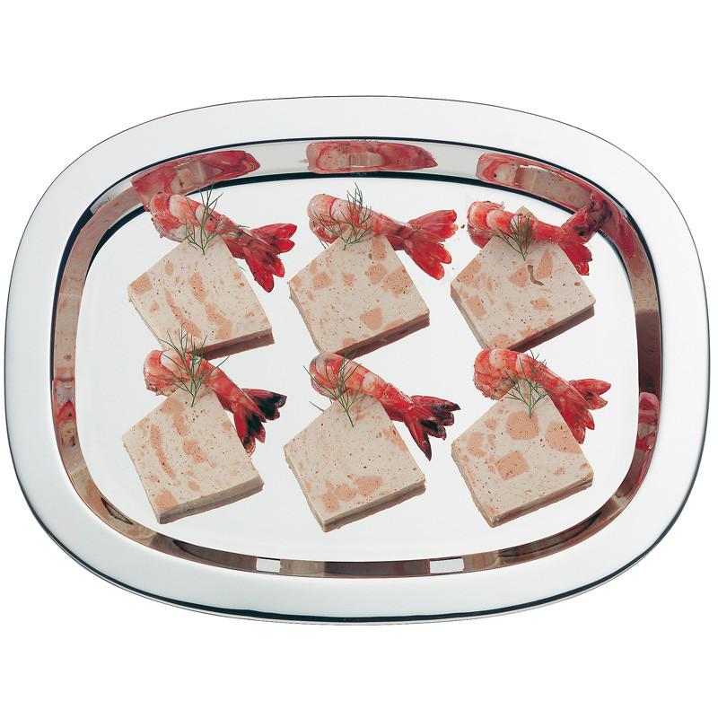Блюдо сервировочное WMF Tavola, длина 36 см, серебристый WMF 06 0675 6040 фото 2