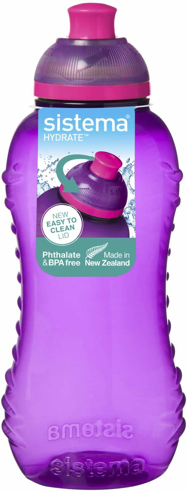 Бутылка детская Sistema HYDRATE, объем 0,33 л, цвет в ассортименте Sistema 780 фото 1