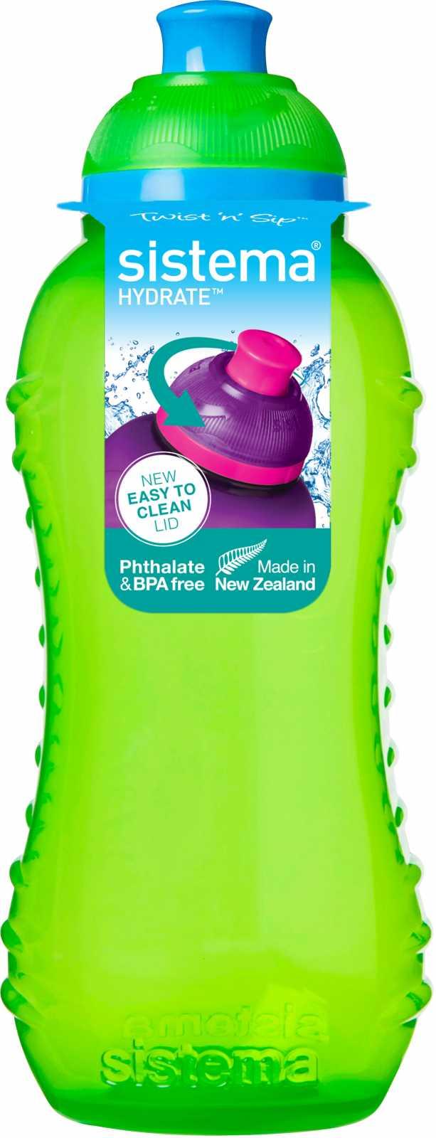 Бутылка детская Sistema HYDRATE, объем 0,33 л, цвет в ассортименте Sistema 780 фото 3