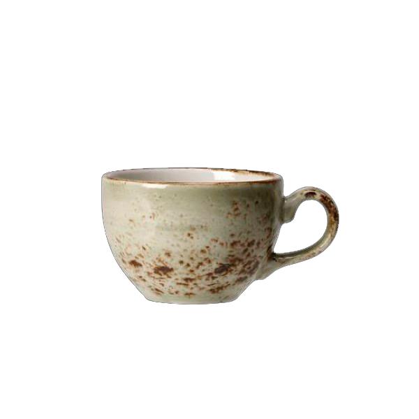 Онлайн каталог PROMENU: Чашка фарфоровая Steelite CRAFT GREEN, объем 0,228 л, зеленая (11310189)