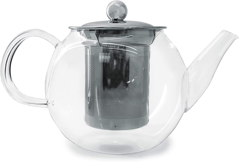 Онлайн каталог PROMENU: Чайник Nerthus GLASS TEAPOT, объем 0,8 л, прозрачный Nerthus FIH 564