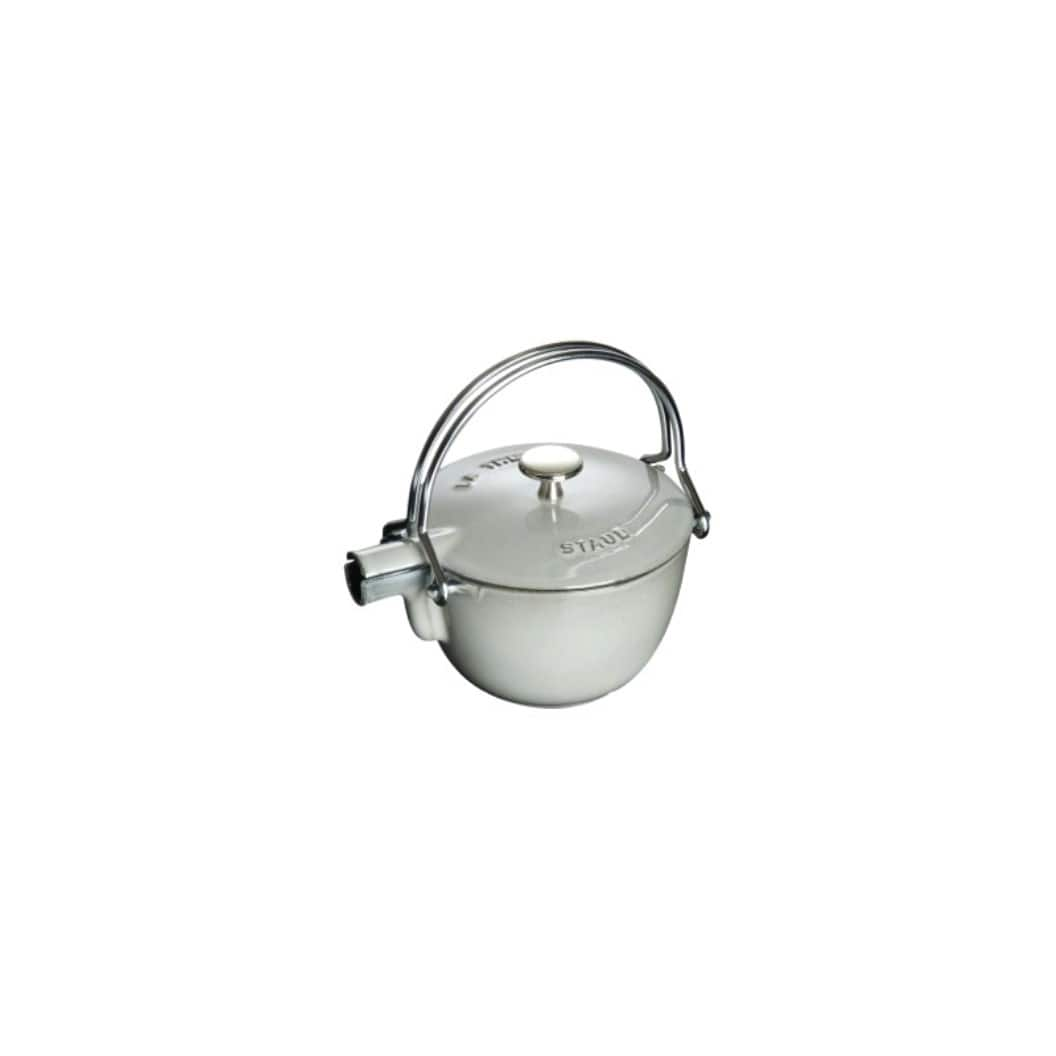 Онлайн каталог PROMENU: Чайник чугунный Staub, объем 1,1 л, серый                                   40509-420-0