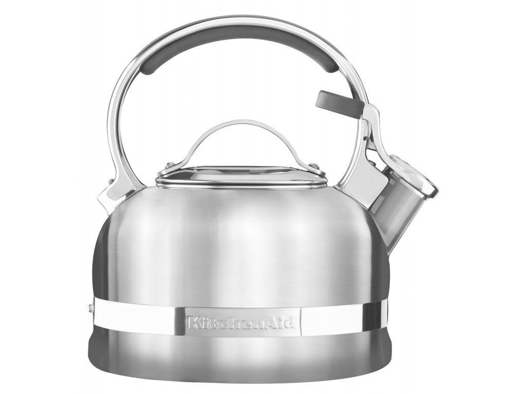 Онлайн каталог PROMENU: Чайник 1,89 л KitchenAid Stovetop Kettle Стальной (KTST20SBST) KitchenAid KTST20SBST