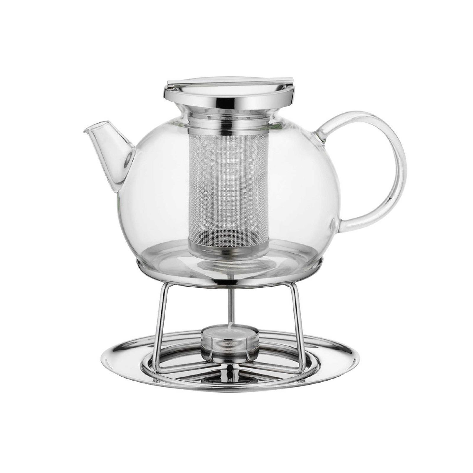 Чайник заварочный с подогревом WMF, объем 0,75 л, прозрачный WMF 06 3080 6040 фото 1