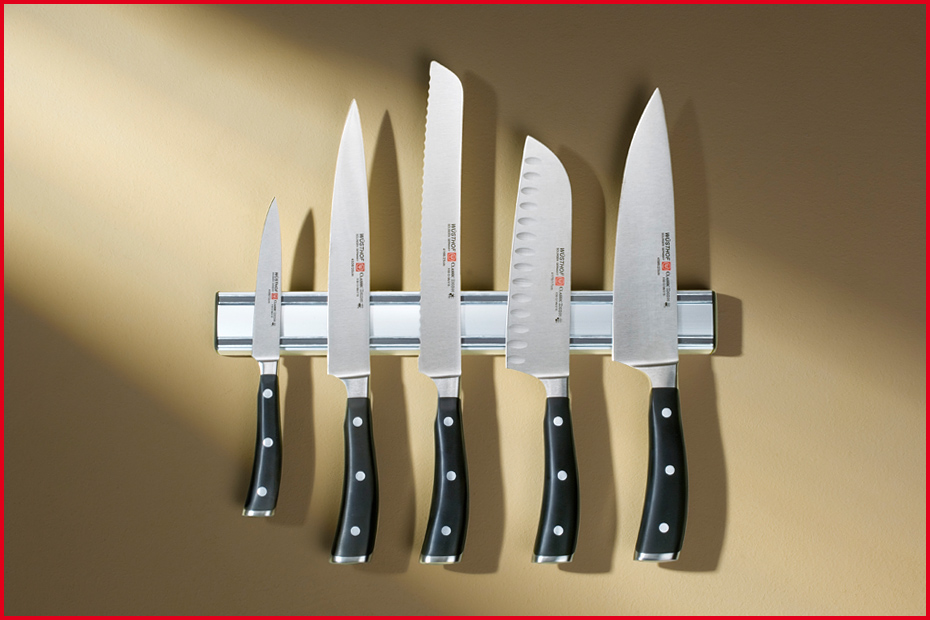 Держатель для ножей магнитный Wuesthof, длина 45 см, серебристый Wuesthof 7227/45 фото 2