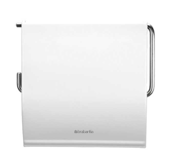 Держатель для туалетной бумаги Brabantia, 13,3х1,7х12,3 см, белый Brabantia 414565 фото 1