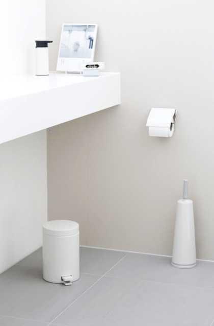 Держатель для туалетной бумаги Brabantia, 13,3х1,7х12,3 см, белый Brabantia 414565 фото 4