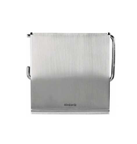 Держатель для туалетной бумаги Brabantia,12,3х13,3х1,7 см, серебристый Brabantia 385322 фото 2