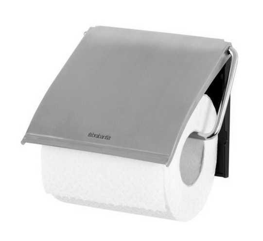 Онлайн каталог PROMENU: Держатель для туалетной бумаги Brabantia,12,3х13,3х1,7 см, серебристый Brabantia 385322