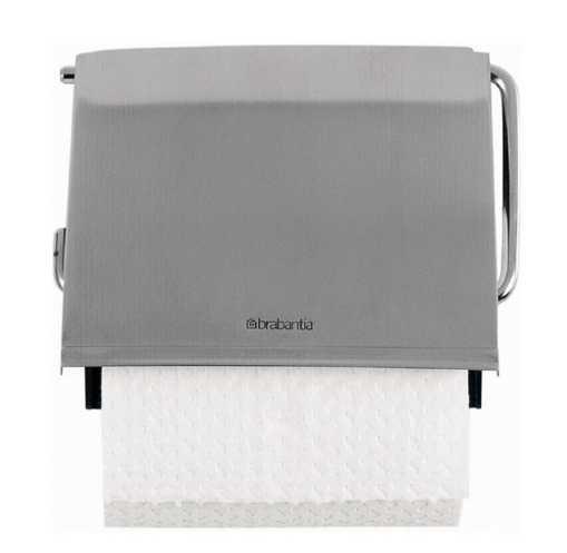 Держатель для туалетной бумаги Brabantia,12,3х13,3х1,7 см, серебристый Brabantia 385322 фото 1