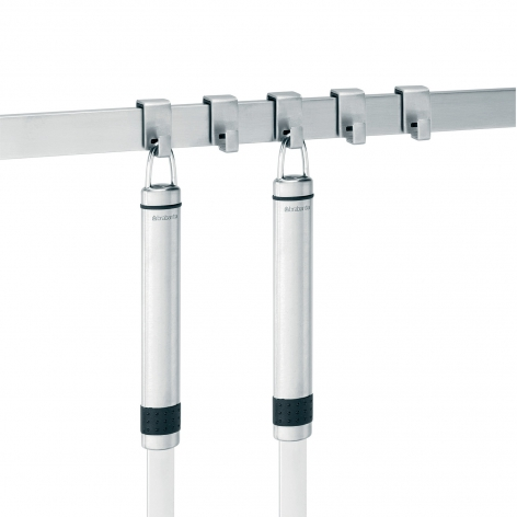 Держатель кухонный с 7 крючками Brabantia, длина 60 см, серебристый Brabantia 460005 фото 4