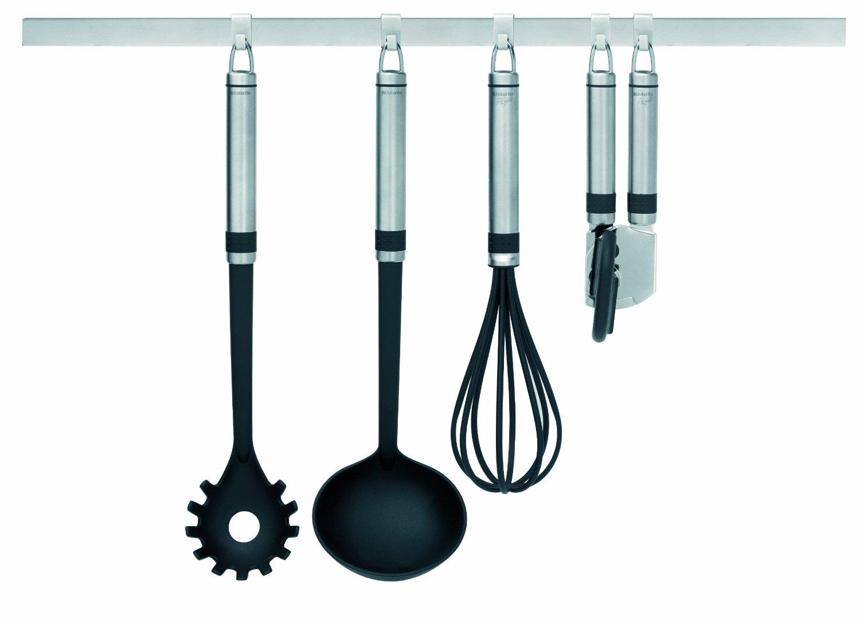 Держатель кухонный с 7 крючками Brabantia, длина 60 см, серебристый Brabantia 460005 фото 6