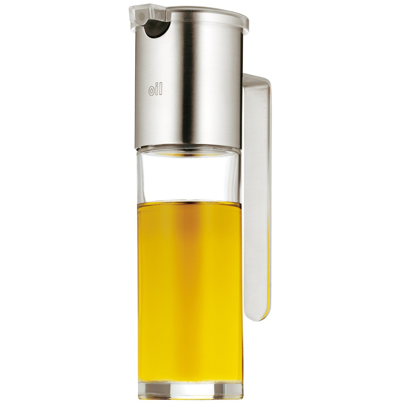 Диспенсер для масла/уксуса WMF Basic, объем 0,12 л, прозрачный с серебристым WMF 06 1916 6030 фото 0