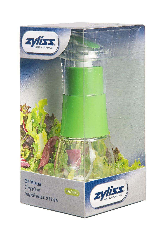 Диспенсер для масла/уксуса Zyliss, прозрачный с зеленым Zyliss E970008 фото 8