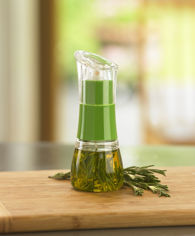 Диспенсер для масла/уксуса Zyliss, прозрачный с зеленым Zyliss E970008 фото 7